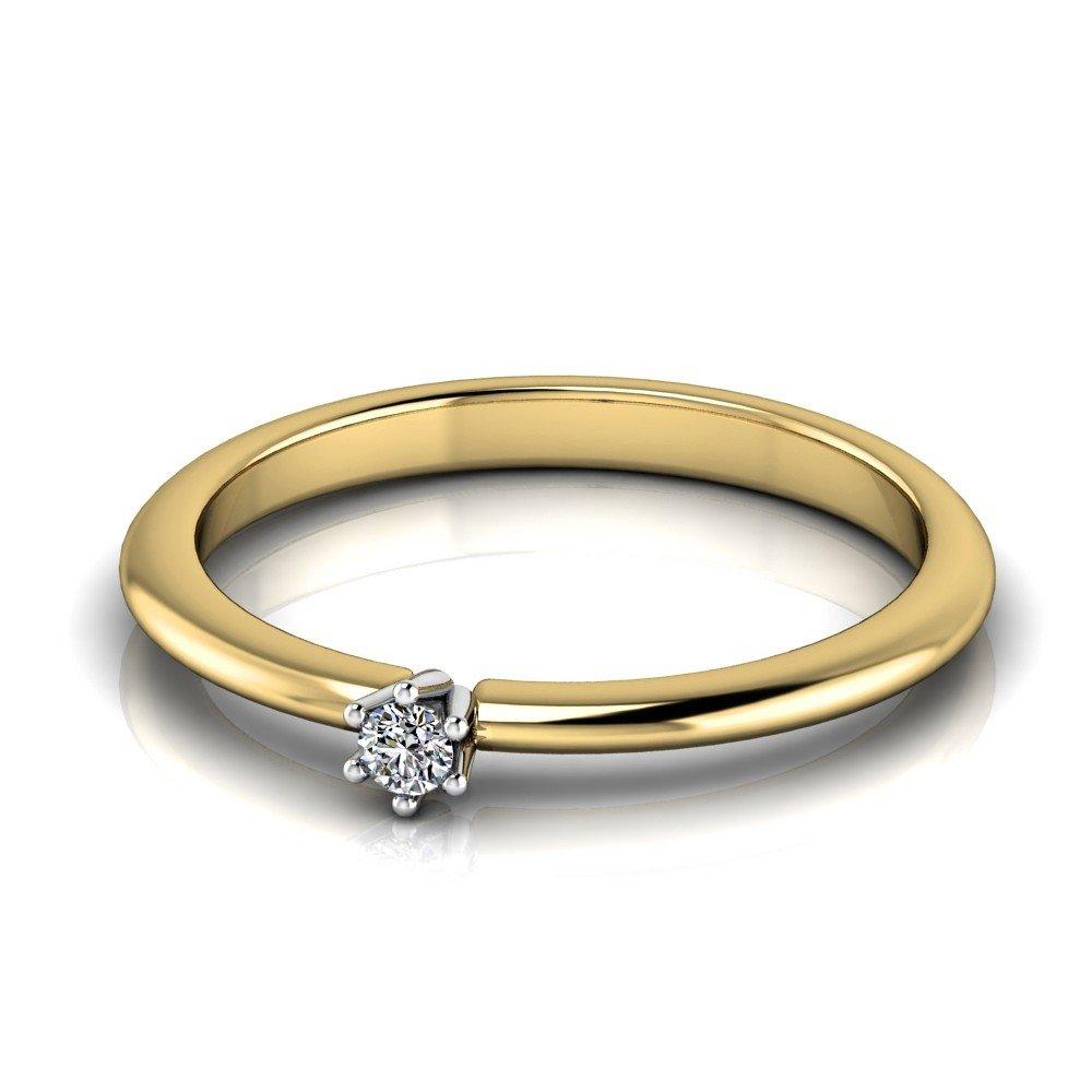 Vorschau: Verlobungsring-VR01-333er-Gelb-Weißgold-1042-deta