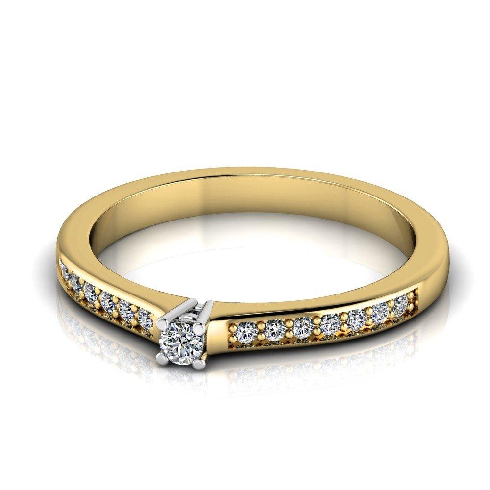 Vorschau: Verlobungsring-VR05-333er-Gelb-Weißgold-1006-deta